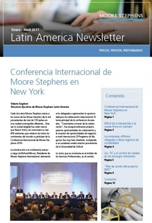 MSLA Newsletter Enero-Abril 2017